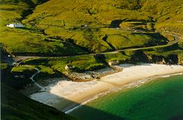 Keem strand on Achill Island, Co Mayo©Simon Berrow