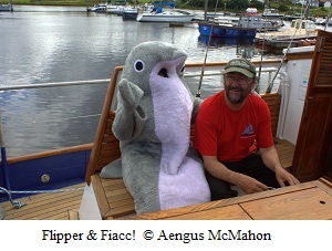 Flipper with Skipper Fiacc O'Brolchain