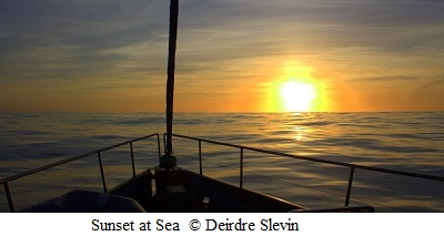 Celtic Mist in Sunset © Deirdre Slevin